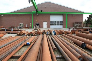 Materiallager Meuser Kempen