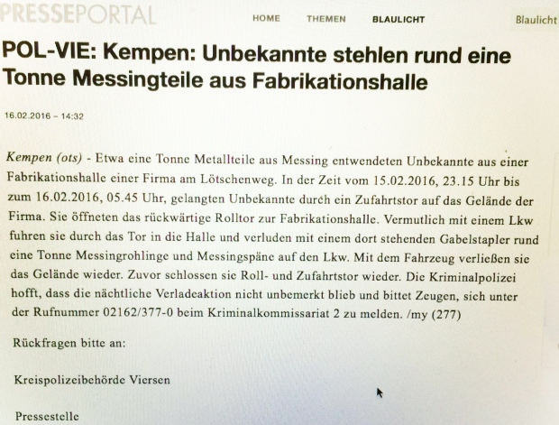 Pressemitteilung POL-VIE